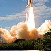 Atlantis Lift Off Poster