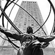 Atlas In Rockefeller Center Poster