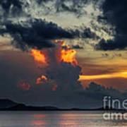 Atomic Sunset Poster
