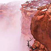 Atop Canyonlands Poster