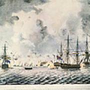 Attack On Fort Mifflin, 1777 Poster