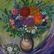 Atumn Flowers Poster