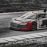 Audacious Audi R8 Poster