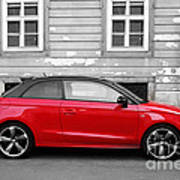 Audi A1 Car Poster