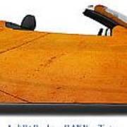 Audi R8 Raf Eye Taxiway Poster