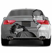Audi S5 Laid Back Copenhagen Poster