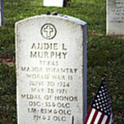 Audie Murphy - Most Decorated Poster