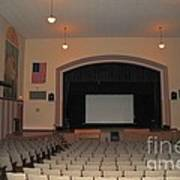 Auditorium In Clare Michigan Poster