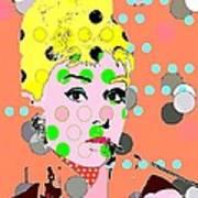 Audrey Hepburn Poster by Ricky Sencion