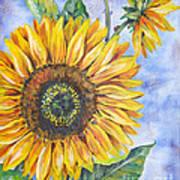 Audrey's Sunflower Poster