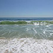 August Ocean Poster