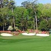 Augusta National - Hole 13 Poster