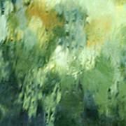 Aurora Borealis Abstract Poster