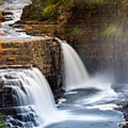 Ausable Chasm Waterfall Poster