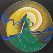 Auspicious Moment-oil Painting Poster by Rejeena Niaz