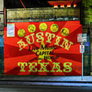 Austin Hdr 006 Poster by Lance Vaughn