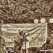 Austin Musicians At Bob Bullock Poster