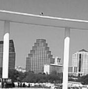 Austin Skies Poster