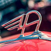 Austin Truck Classic Badge Poster