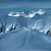 Austria Mountain Ischgl Poster