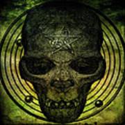 Authentic Skull Of The Vampire Callicantzaros Poster