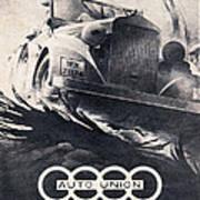 Auto Union Poster