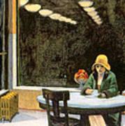 Automat Poster by Edward Hopper