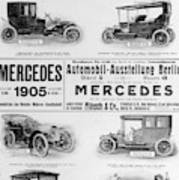 Automobile Ad, 1905 Poster