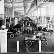 Automobile Display, 1904 Poster