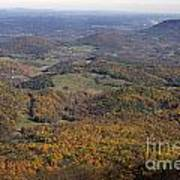Autumn Across The Shenandoah Poster