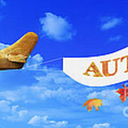 Autumn Advertising Banner Poster