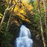 Autumn At Moss Glenn Falls Poster