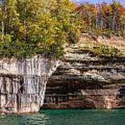 Autumn At Pictured Rocks Poster