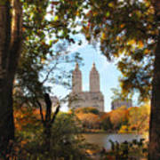 Autumn At San Remo Poster