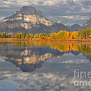 Autumn At The Oxbow Poster