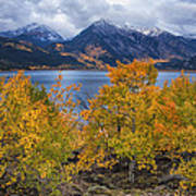 Autumn At Twin Lakes Poster