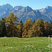 Autumn - Brenta Dolomites Poster
