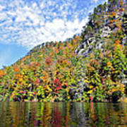 Autumn Colors On A Lake Poster