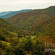 Autumn Comes To Appalachia  Poster