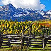 Autumn Corral Poster