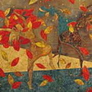 Autumn Dance Poster