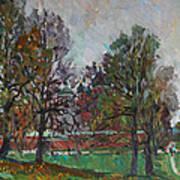 Autumn Day In Borodino Poster