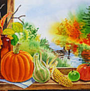Autumn Harvest Fall Delight Poster