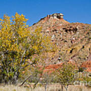 Autumn In Palo Duro Canyon 110213.119 Poster