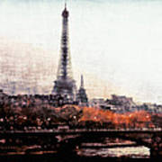 Autumn In Paris Poster