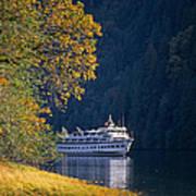 Autumn In Princess Louisa Inlet Poster