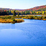 Autumn In The Adirondacks IIi Poster