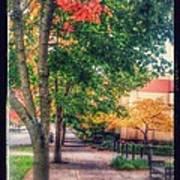 Autumn In Vancouver Washington Poster