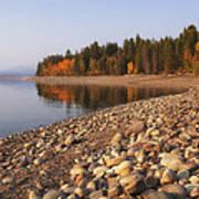 Autumn Lake Poster