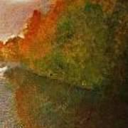 Autumn Lake View  Poster